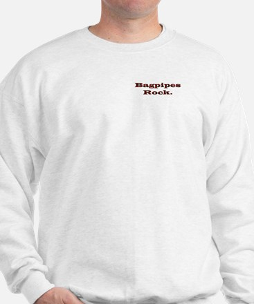 Bagpipes Rock Sweatshirt