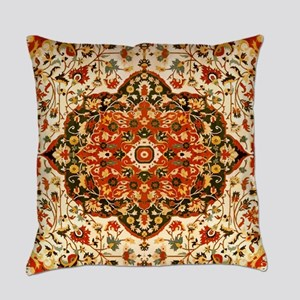 Antique Persian Sarouk Farahan Everyday Pillow