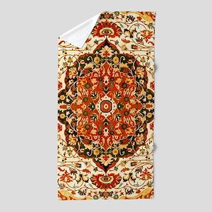 Antique Persian Sarouk Farahan Beach Towel