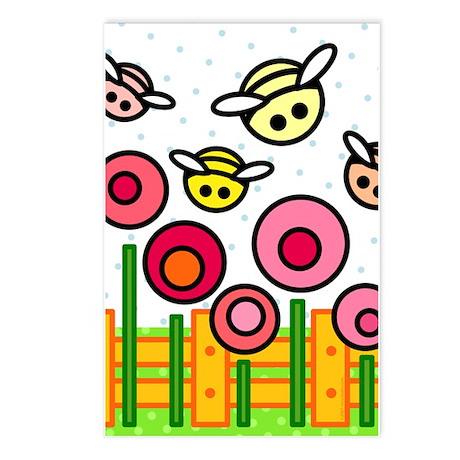 Bee Garden Postcards (Package of 8)