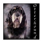 Otterhound Tile Coaster