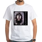 Otterhound White T-Shirt