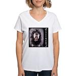 Otterhound Women's V-Neck T-Shirt