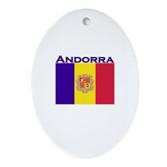 Andorra Oval Ornament