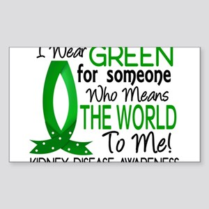 Means World To Me 1 Kidney Disease Shirt Sticker