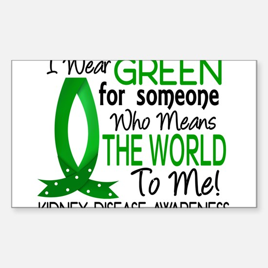 Means World To Me 1 Kidney Disease Shirt Decal