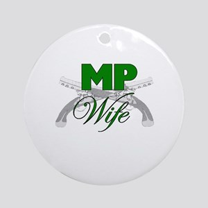 MP Wife Ornament (Round)