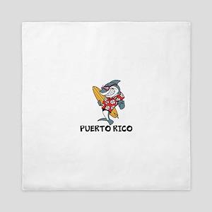 Puerto Rico Queen Duvet