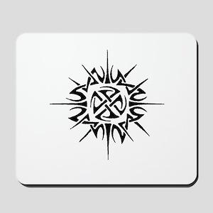 Celtic Sun Symbol Mousepad