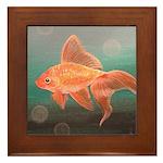 StephanieAM Goldfish Framed Tile