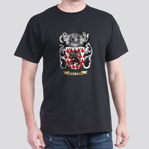 Watters Family Crest (Coat of Arms) Dark T-Shirt