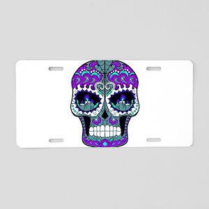 Best Seller Sugar Skull Aluminum License Plate