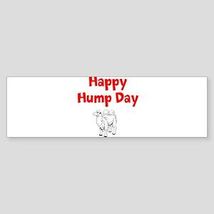 Happy Hump Day Bumper Sticker