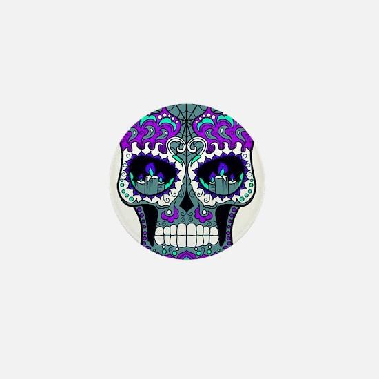 Best Seller Sugar Skull Mini Button