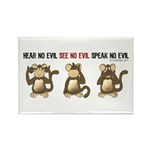 Hear No Evil... Rectangle Magnet (10 pack)
