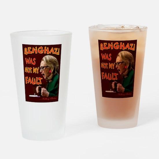 OBAMA SUBWAY Drinking Glass