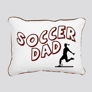Soccer Dad (daughter) Rectangular Canvas Pillow