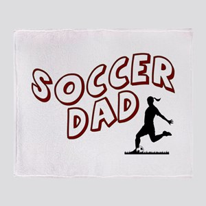 Soccer Dad (daughter) Throw Blanket