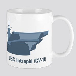 USS Intrepid Mugs