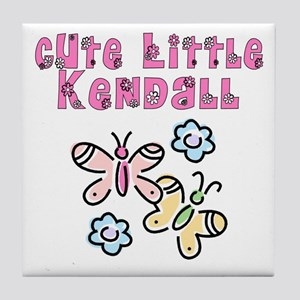 Cute Little Kendall Tile Coaster