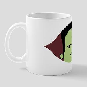Peeking Frankenstein Mug
