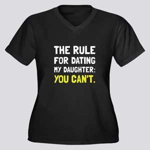 Dating Daughter Rule Plus Size T-Shirt