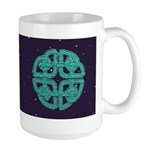 Celtic Knot - Fairy Dance Large Mug