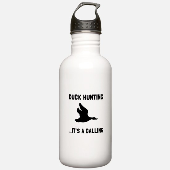 Duck Hunting Calling Water Bottle