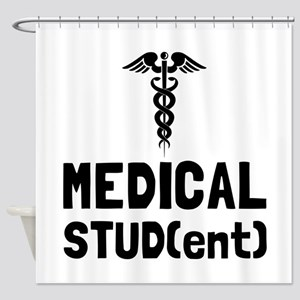 Medical Student Shower Curtain