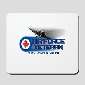 Canadian Air Force Veteran Mousepad