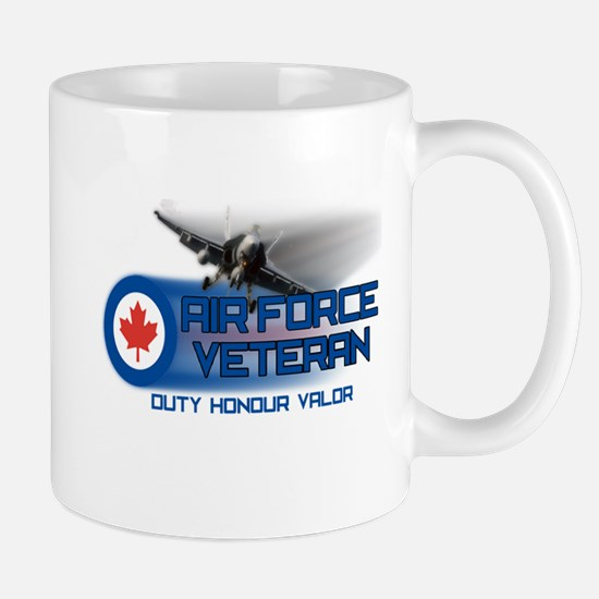 Canadian Air Force Veteran Mugs