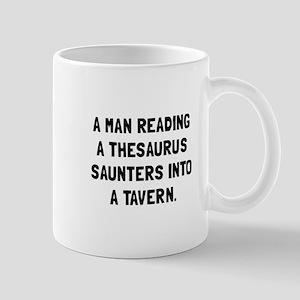 Thesaurus Saunters Mugs