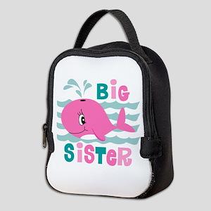 Whale Big Sister Neoprene Lunch Bag