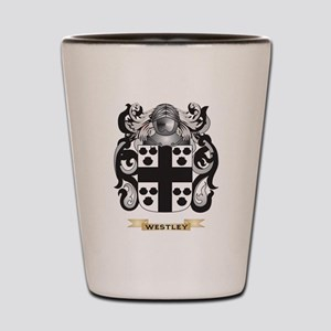 Westley Family Crest (Coat of Arms) Shot Glass