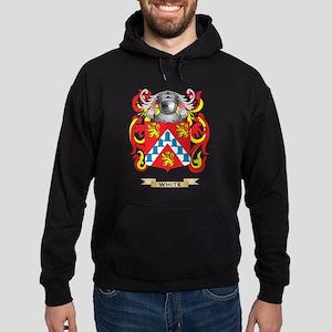 White (Ireland) Family Crest (Coat o Hoodie (dark)