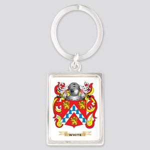 White (Ireland) Family Crest (Co Portrait Keychain