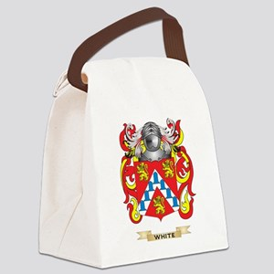 White (Ireland) Family Crest (Coa Canvas Lunch Bag
