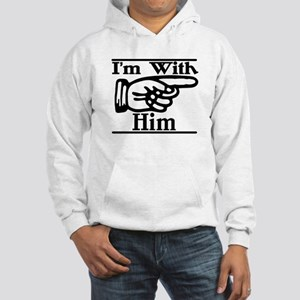 Him Left Hooded Sweatshirt