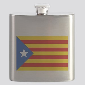 Catalan Independence Flask