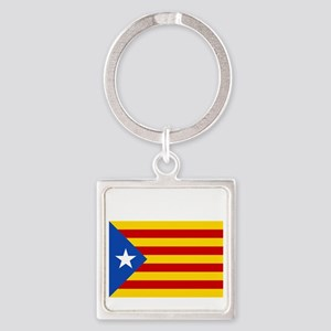Catalan Independence Square Keychain