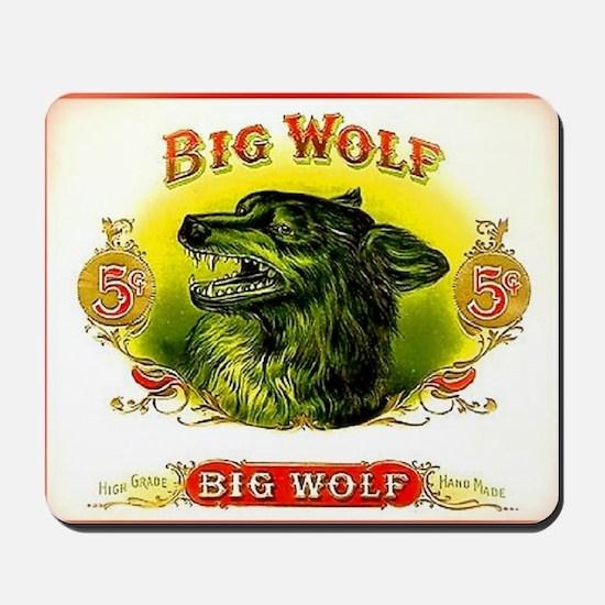 Big Wolf Mousepad