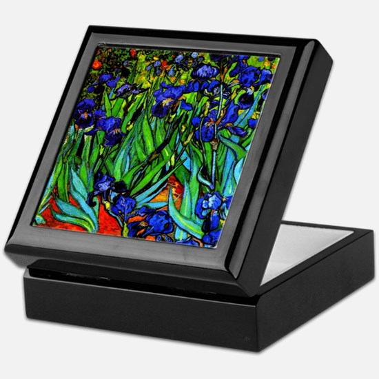 Van Gogh - Irises Keepsake Box