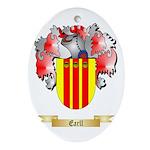Earll Ornament (Oval)