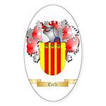 Earle Sticker (Oval 50 pk)
