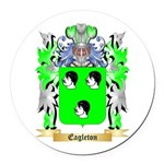 Eagleton Round Car Magnet