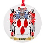 Eagger Round Ornament