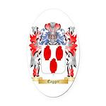 Eagger Oval Car Magnet