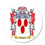Eagger Round Car Magnet