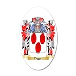 Eagger 20x12 Oval Wall Decal