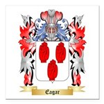 Eagar Square Car Magnet 3